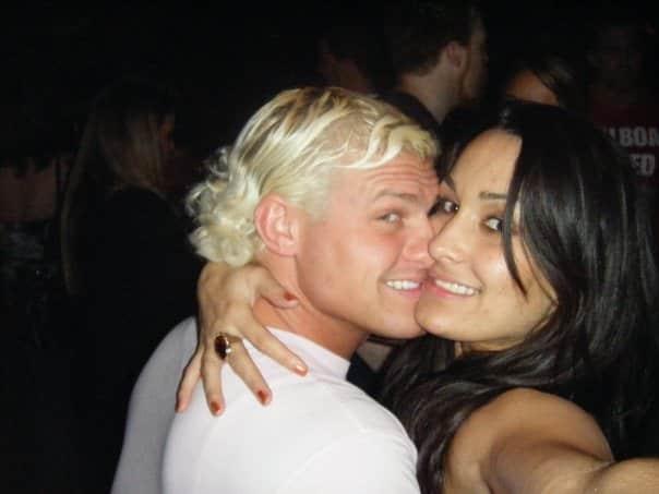 Dolph Ziggler y Nikki Bella alrededor de 2010