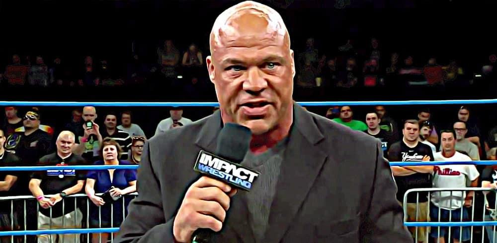 """Kurt Angle: """"AEW debe darse cuenta que siempre será la número 2"""" 1"""