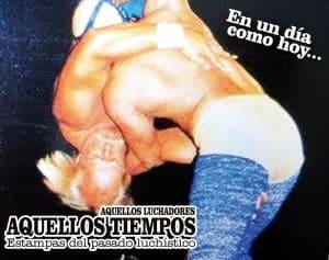 En un día como hoy... 1984: En El Toreo, Hulk Hogan vs. Canek disputándose el Campeonato Mundial de Peso Completo WWF 2
