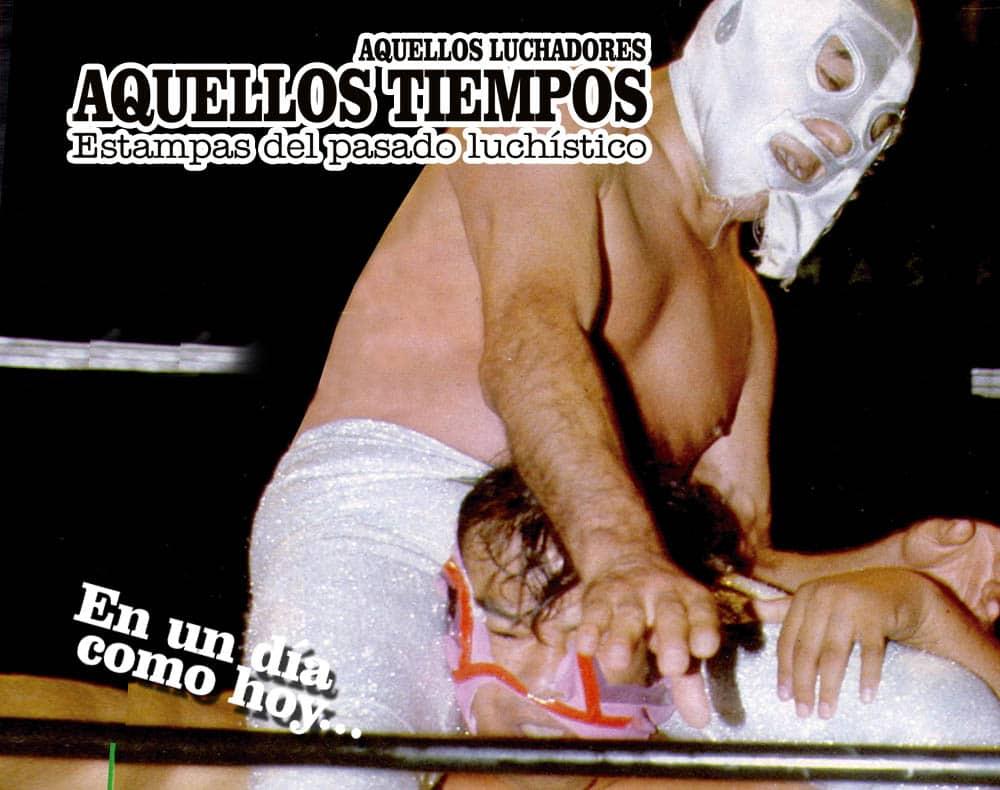 En un día como hoy... 1982: Santo dice adiós a la Arena México... 1987: Fallece don Salvador Lutteroth 1