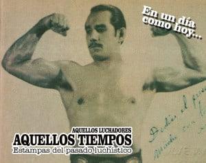 """En un día como hoy... 1959: Carlos """"Tarzán"""" López se retira de la lucha libre... Función a beneficio del Tarzan, del Espectro, Daniel Aldana y Eskimo Blancarte 7"""