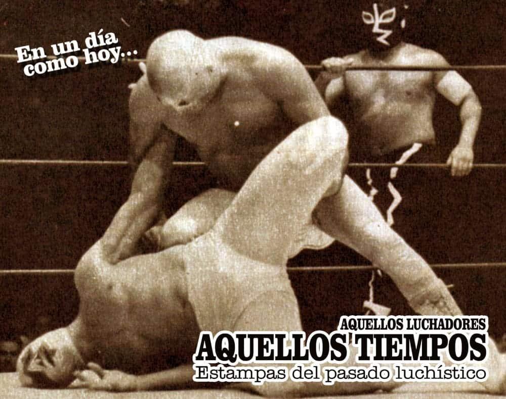 En un día como hoy... 1966: Santo y Rayo de Jalisco vs. Mil Máscaras y Black Shadow, en la final de un enorme torneo de parejas 1