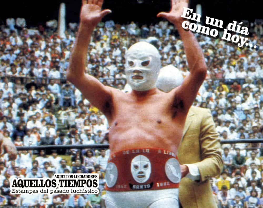 En un día como hoy... 1982: La última lucha — Santo, el Enmascarado de Plata, dice adiós a los cuadriláteros 7