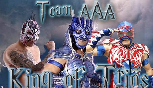 Aero Star, Drago y Fénix ganan el CHIKARA King of Trios 2015 1