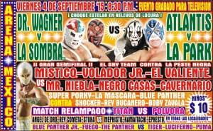 Resultados CMLL: Dr. Wagner y La Sombra, una pareja ingobernable que saca chispas. 18
