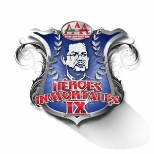 """AAA: Listo el cartel para """"Héroes Inmortales IX"""", el Domo de San Luis preparado para este gran evento. 6"""