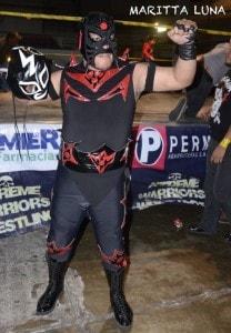 Rey Pantera el gran ganador de la velada.