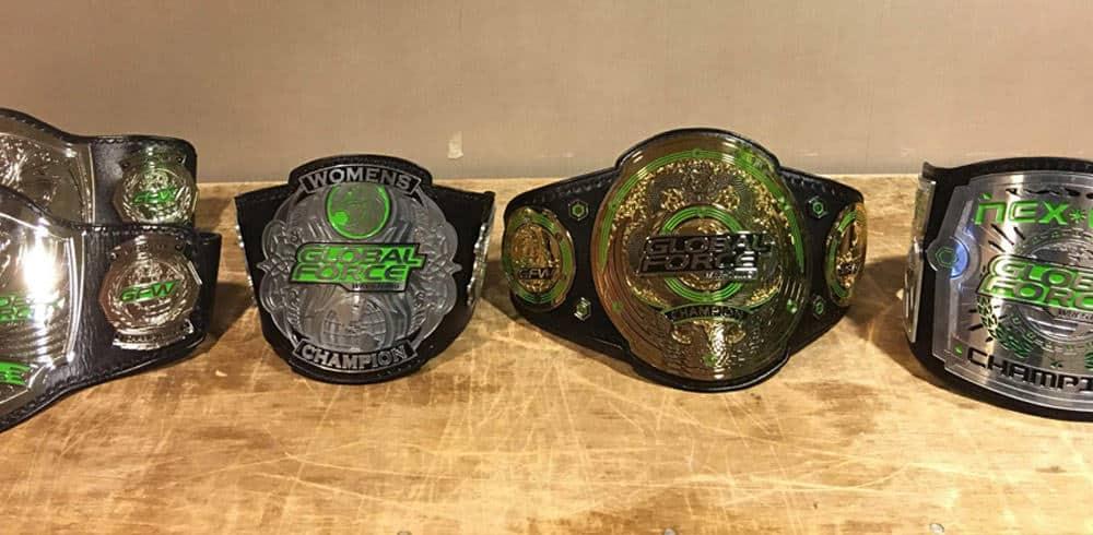 La Global Force Wrestling coronó a sus primeros campeones 4