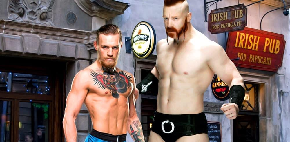 """Sheamus asegura: """"¿Vencería a Conor McGregor? Absolutamente"""" 1"""