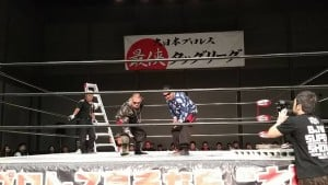 """BJW: Resultados """"Saikyou Tag League 2015"""" - 26/10/2015 - Día 14 - Listas las semifinales 7"""