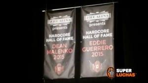 Eddie Guerrero y Dean Malenko son inmortalizados en la ECW Arena 2
