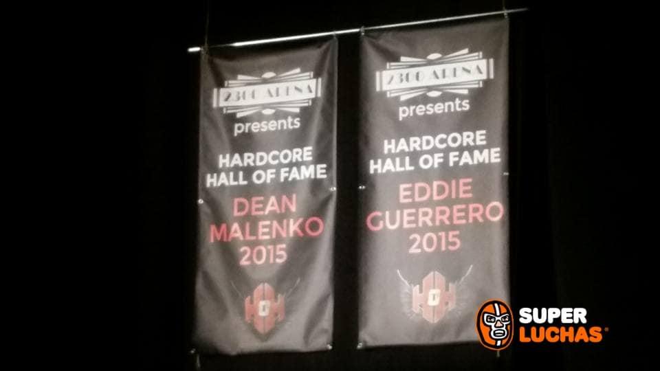 Eddie Guerrero y Dean Malenko son inmortalizados en la ECW Arena 1