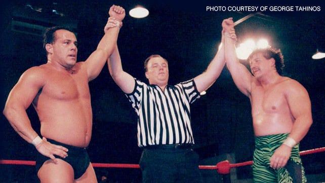 """El último duelo entre Eddie y Dean en ECW. """"Please don't go"""". Foto de George Tahinos"""