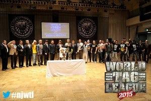 """NJPW: Presentación oficial del torneo """"World Tag League 2015"""". 16"""