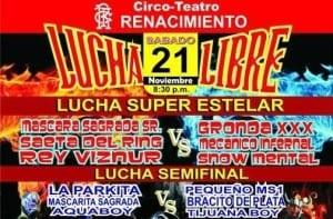 La Ciudad de Campeche se engalana con gran función de Lucha Libre 5