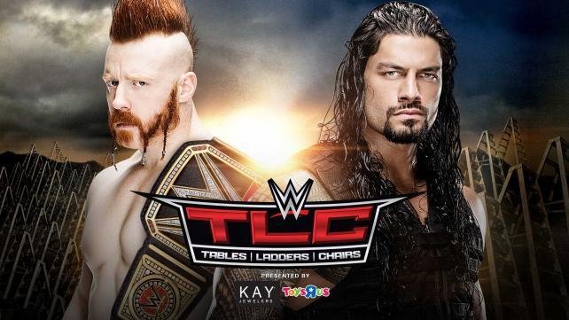 WWE TLC 2015 (Cobertura y resultados) - Mesas, sillas y escaleras 1