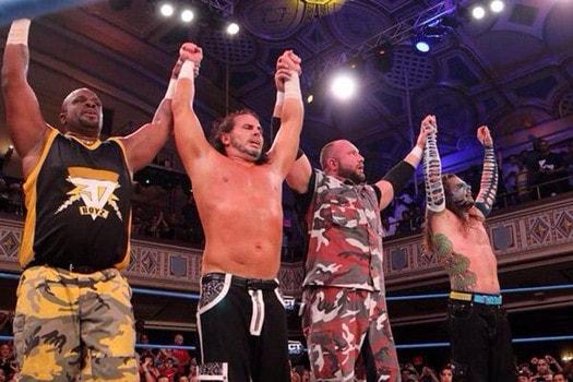 La última lucha entre Dudleys y Hardys, en TNA. Foto Archivo