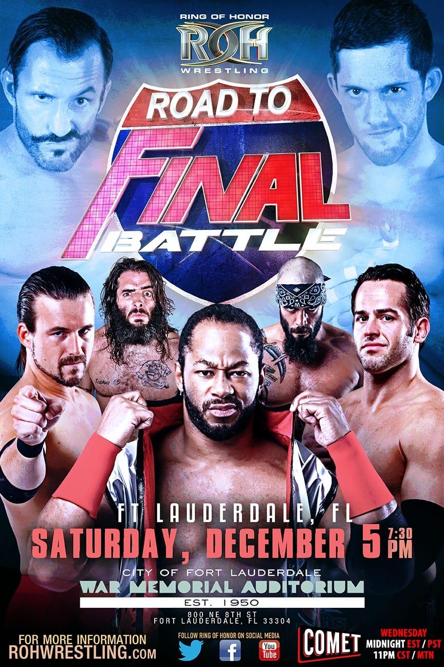 Resultados de ROH Road To Final Battle 2015 (5 de diciembre de 2015) - Último show antes del PPV Final Battle 1