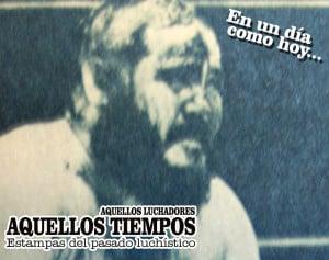 En un día como hoy... 1977: El Faraón destrona a Joe Polardi — Halcón Ortiz rapa a Herodes 16