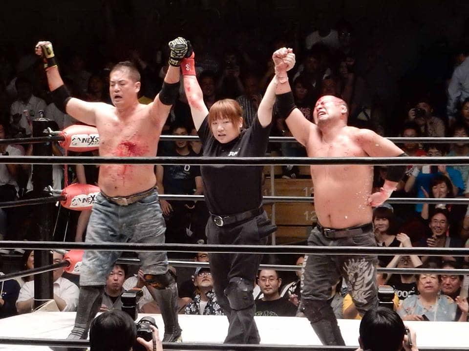 "BJW: Cartel completo para ""Big Japan Full Metal"" - 13/12/2015 - Ryuji Ito vs. Ryuichi Sekine, sangrienta estelar 24"