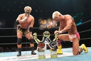 "NJPW: Resultados ""World Tag League 2015"" - 09/12/2015 - Gran final: Togi Makabe y Tomoaki Honma, ganadores 4"
