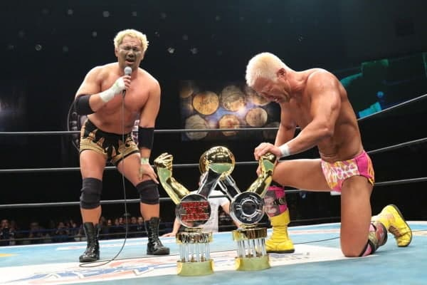 "NJPW: Resultados ""World Tag League 2015"" - 09/12/2015 - Gran final: Togi Makabe y Tomoaki Honma, ganadores 1"