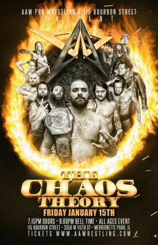Resultados de AAW The Chaos Theory 2016 (15 de enero de 2016) - Eddie Kingston retuvo el título ante Trevor Lee 4