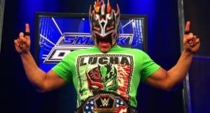Kalisto defendería el Campeonato de los Estados Unidos en Lucha de Escaleras en WrestleMania 32 4