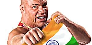 WWE se disculpa con la India debido a que Kurt Angle mancilló su bandera nacional 3