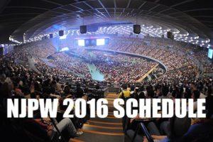 NJPW: Se dan a conocer las magnas funciones de 2016 16