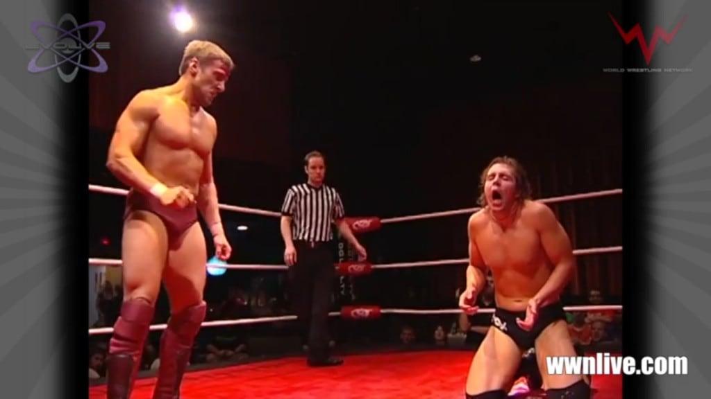 Bryan Danielson (Daniel Bryan) vs Jon Moxley (Dean Ambrose) en Dragon Gate USA Way of the Ronin 2010 / WWN Freebie