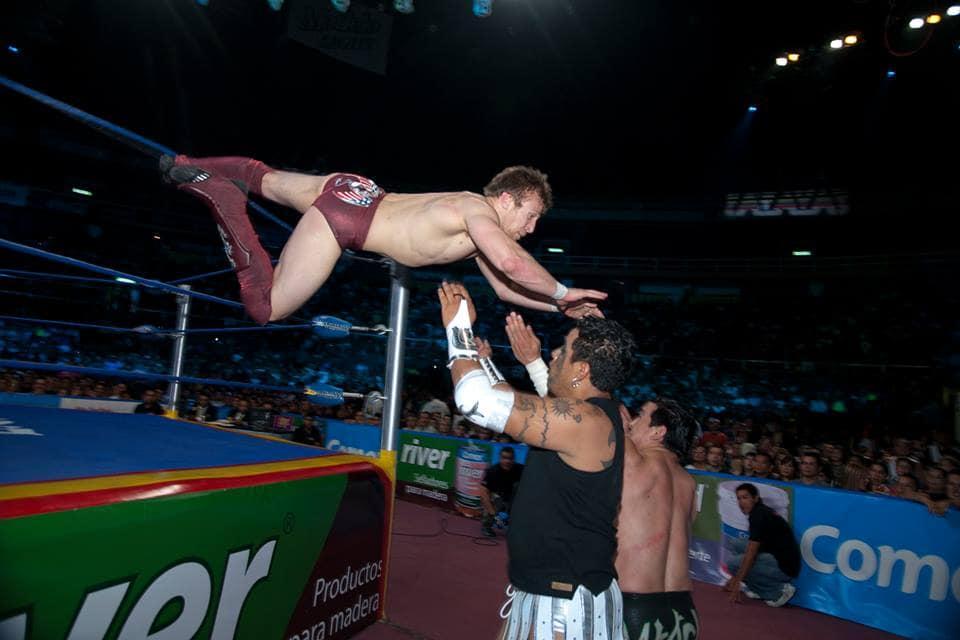 Las luchas de Bryan Danielson (Daniel Bryan) en México. 1