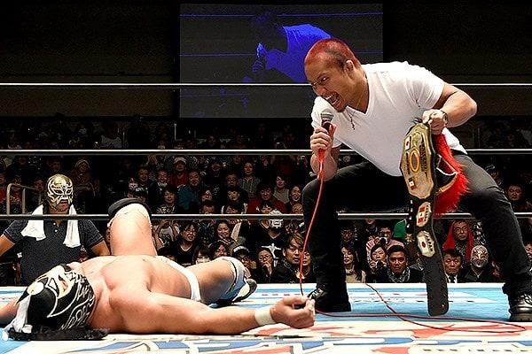 """""""Mi misión es ser el puente entre dos de las empresas de lucha libre más importantes del mundo"""": Okumura 10"""