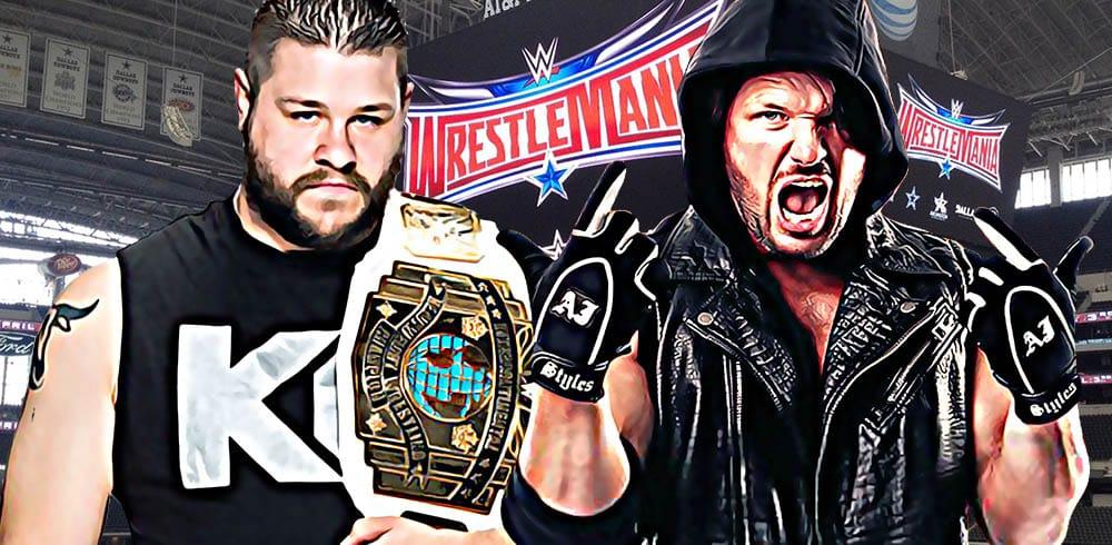 Kevin Owens AJ Styles