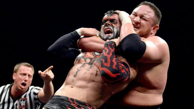 Samoa Joe y Finn Bálor