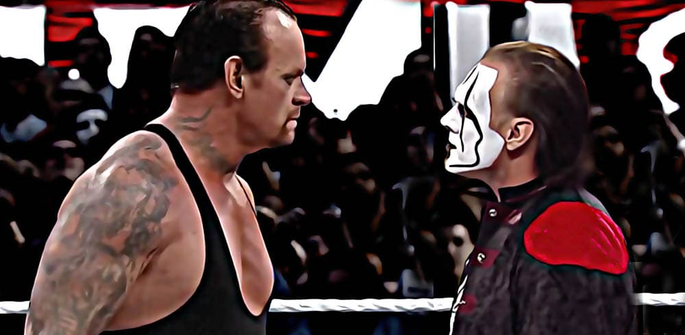 Sting vs The Undertaker