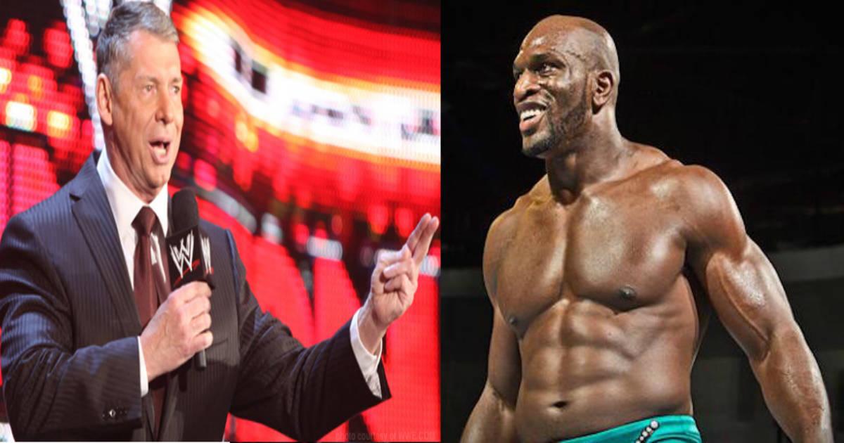 Vince McMahon y Titus O'Neil / WWE©