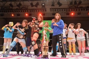 "Stardom: Resultados ""Stardom vs. World Selection Series"" - 21/02/2016 - 3 títulos en juego 15"