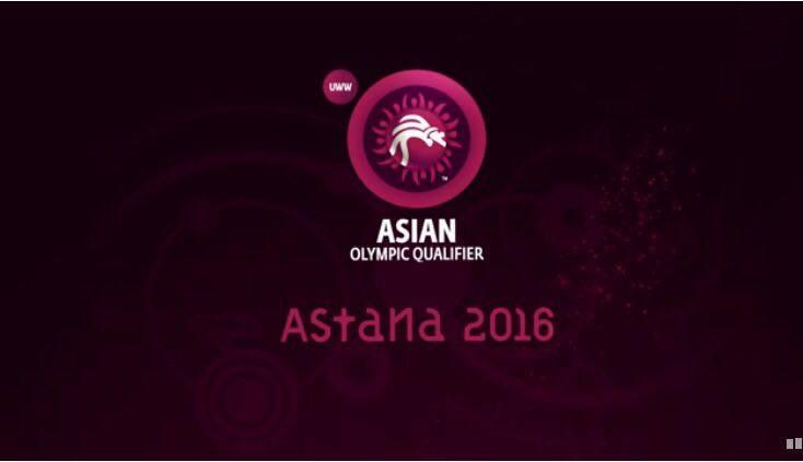 Luchas Asociadas: Los clasificados a Juegos Olímpicos del Campeonato Asático, Astana 2016. 1