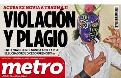Portada periódico Metro