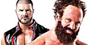 Bobby Roode y Eric Young tras bambalinas en NXT 2