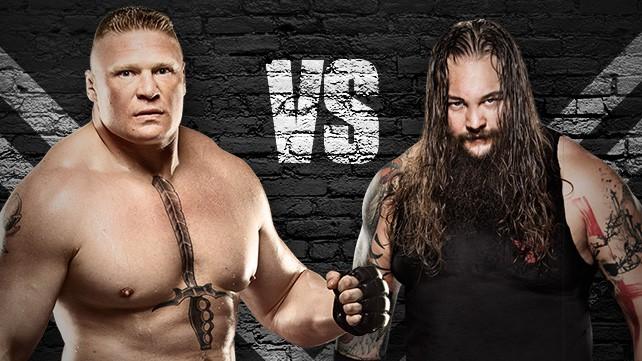 Brock Lesnar vs. Bray Wyatt / WrestlingForum.com