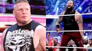 Brock Lesnar y Bray Wyatt / WrestlingNews.com