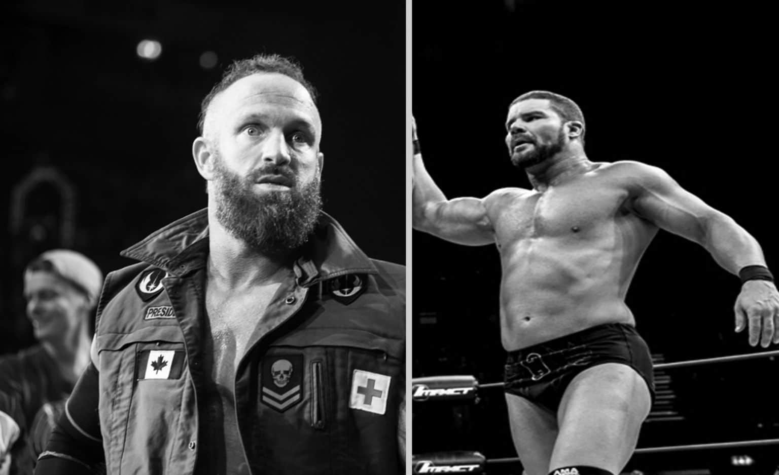 Eric Young y Bobby Roode / iMPACTWrestling.com