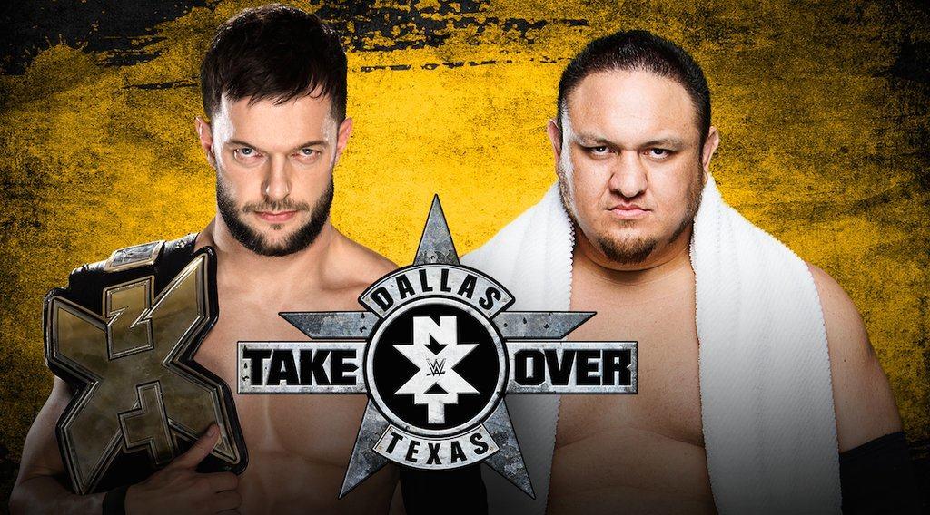 Finn Bálor defiende el NXT Championship ante Samoa Joe en NXT TakeOver Dallas (01/04/2016) / Twitter.com/WWE