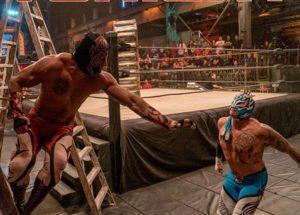 Lucha Underground: Resultados Temporada 2 Capítulo 6- Lucha de escaleras por el Campeonato del Regalo de los Dioses 1