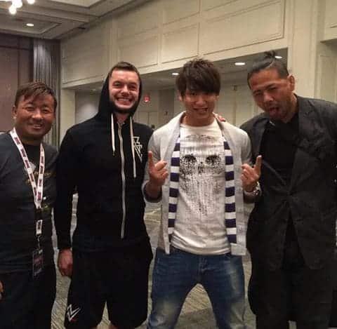 Ibushi, Balor, Funaki y Nakamura