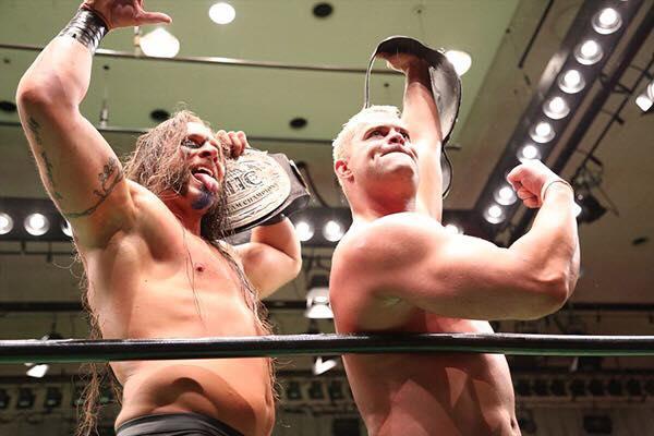 Pro Wrestling NOAH: KES volverá a exponer el campeonato de Parejas en los Estados Unidos 8