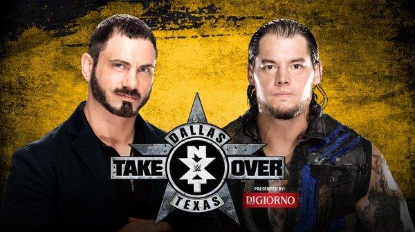 NXT TakeOver Dallas - Austin Aries vs. Baron Corbin