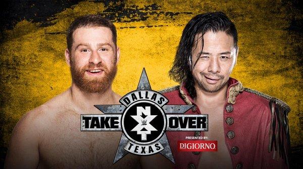 NXT TakeOver Dallas - Sami Zayn vs. Shinsuke Nakamura